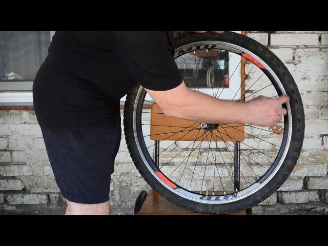 Как самостоятельно собрать велосипедное колесо