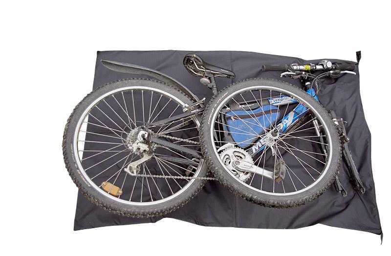Чехол для велосипеда (для хранения и перевозки), как сшить своими руками
