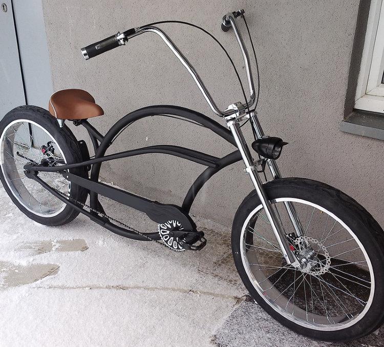 Велосипед чоппер своими руками — rollerbord