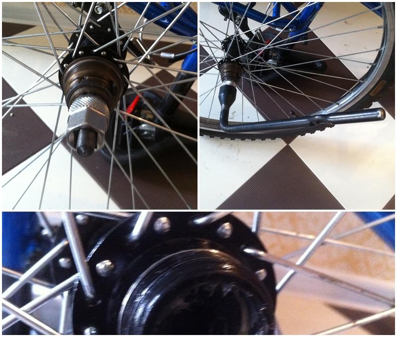 Как правильно переспицевать колесо велосипеда