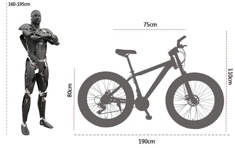 Габариты велосипеда: размеры и особенности выбора