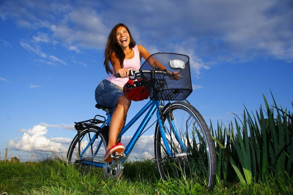 Групповая езда на велосипеде