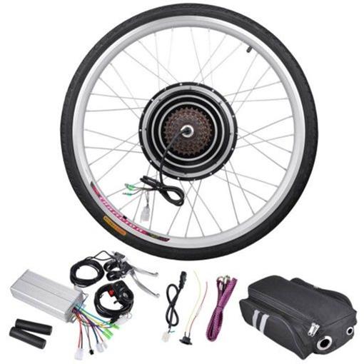 Как выбрать и установить мотор колесо на велосипед?