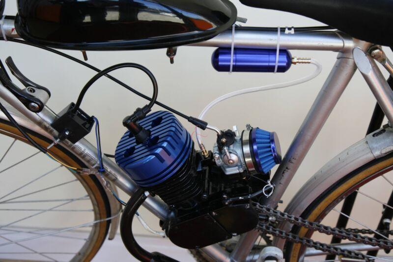 Собрать и установить электромотор на велосипед