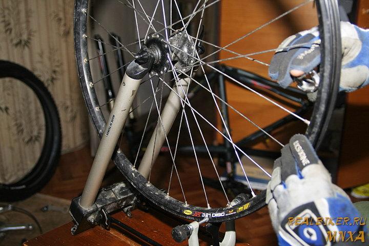 Как разобрать и собрать колесо велосипеда - всё о велоспорте
