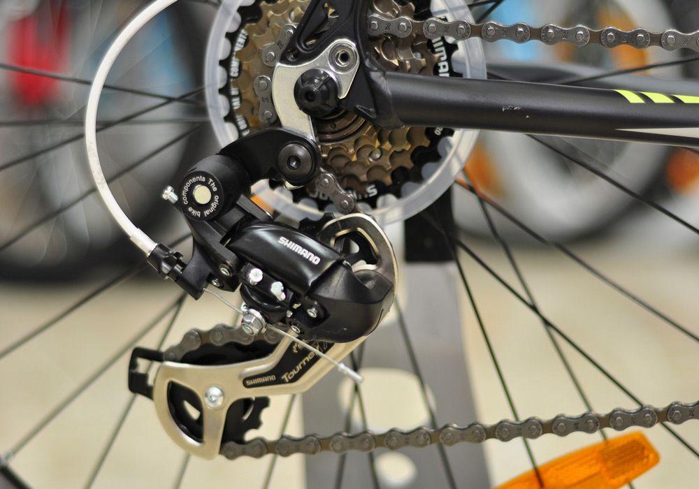 Как натянуть цепь на простом и скоростном велосипеде