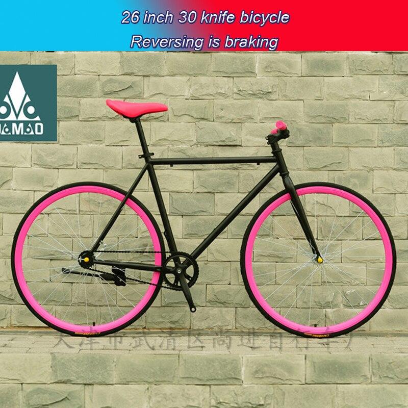Велосипед фикс или захватывающая езда без тормозов