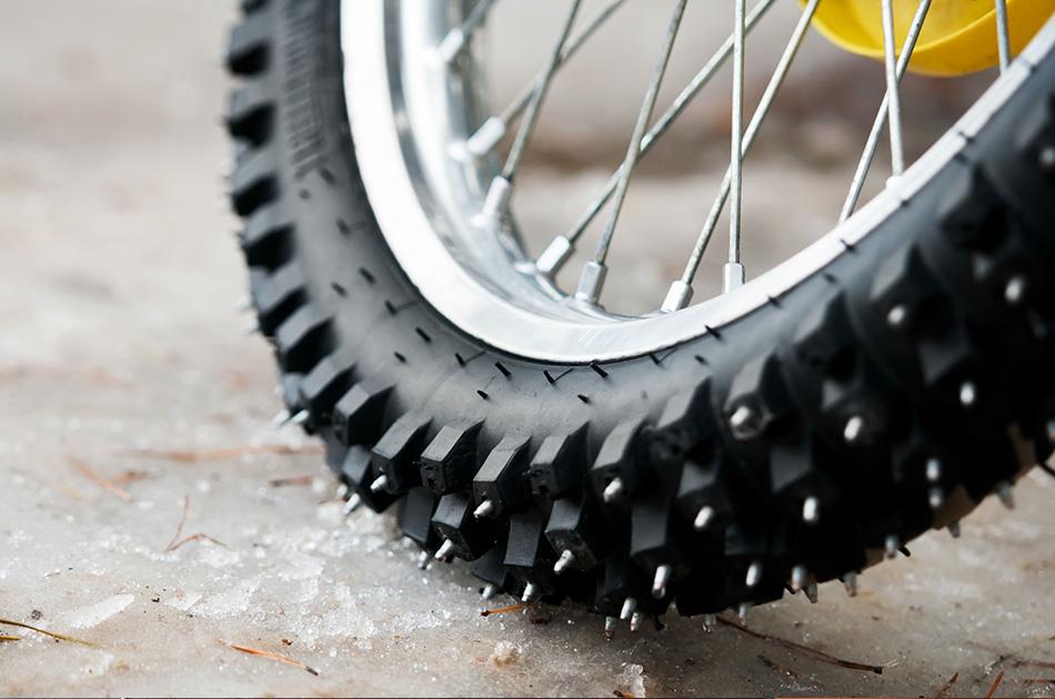Шипованная резина на велосипед своими руками