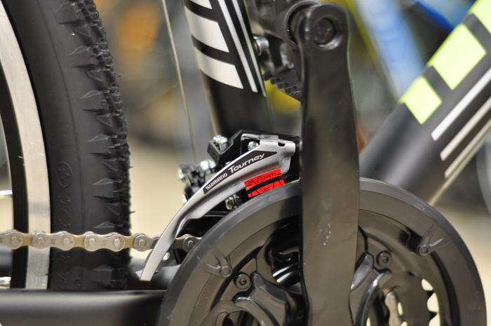 Установка и настройка переднего переключателя скоростей на велосипеде