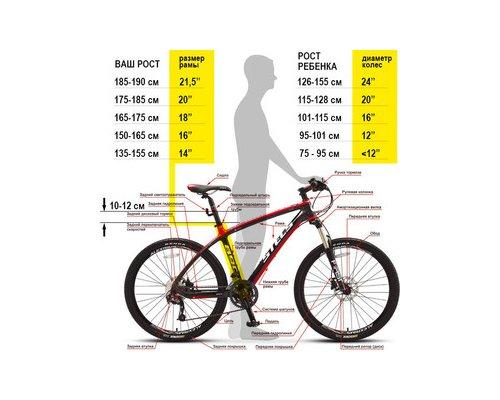 Какой диаметр у колеса велосипеда 14, 20, 26 дюймов