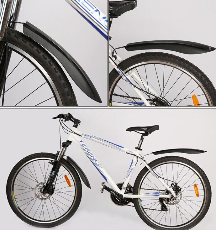 Как выбрать и установить крылья на велосипед, способы крепления