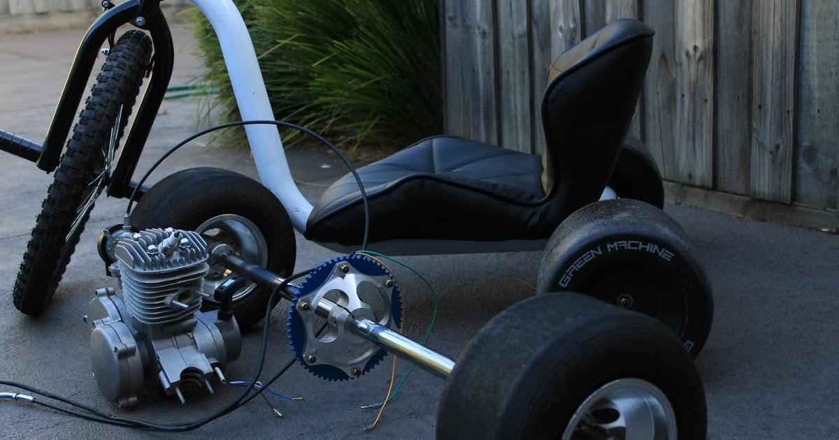 Самодельный велосипед с мотором