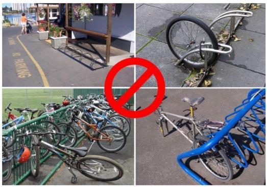Парковка для велосипедов, устройство и место для стойки, как сделать стоянку своими руками
