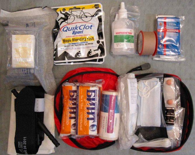 Что входит в состав аптечки первой помощи для велопохода
