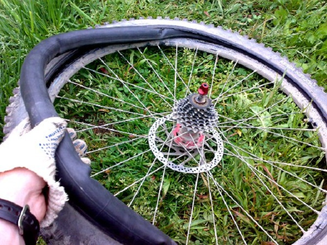 Размерность колес велосипеда