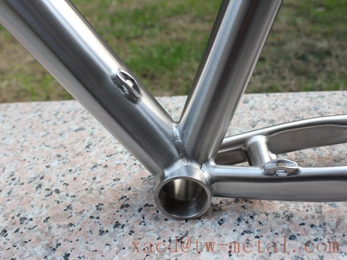 Титановый велосипед и его приемущества