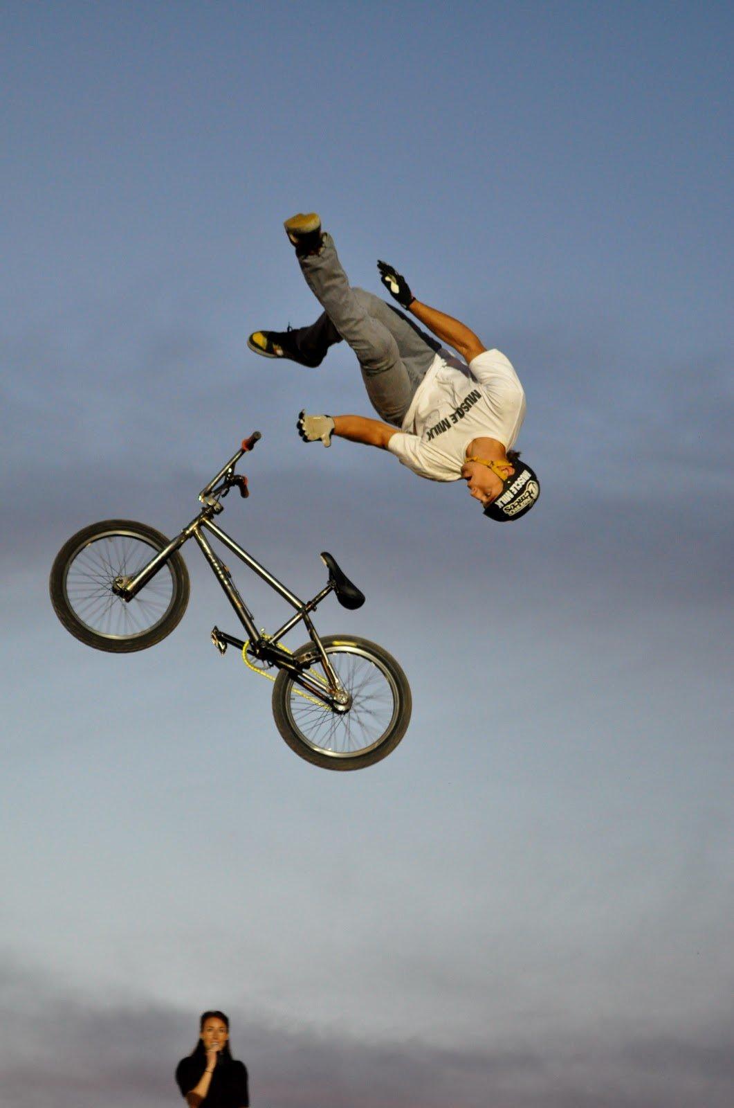 Трюки на велосипедах bmx: обзор и советы