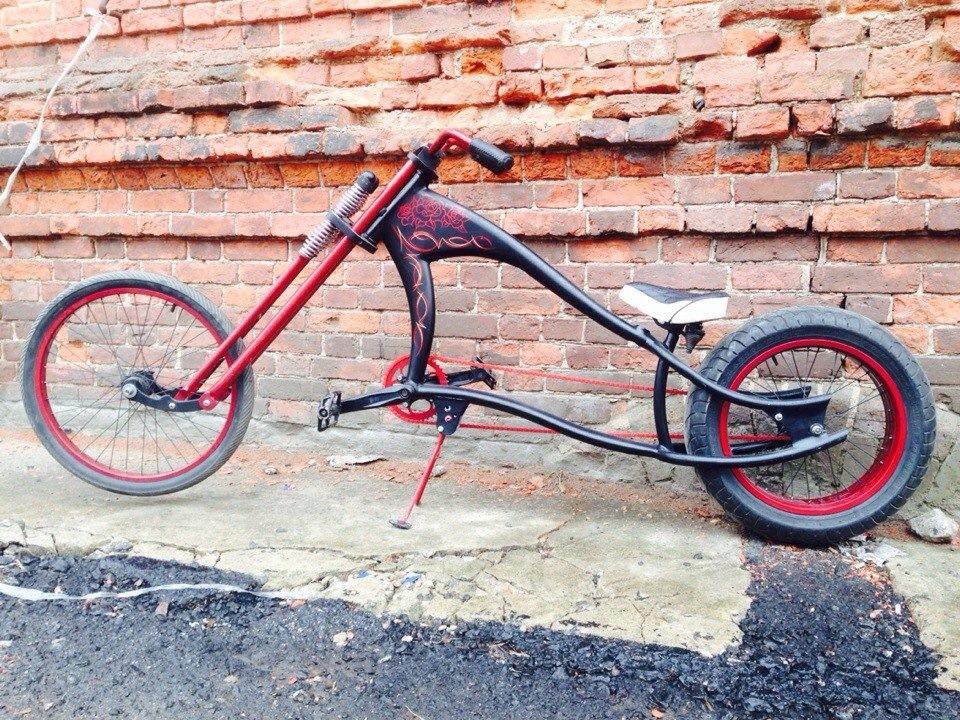 Что такое чоппер, или сделать своими руками велосипед?