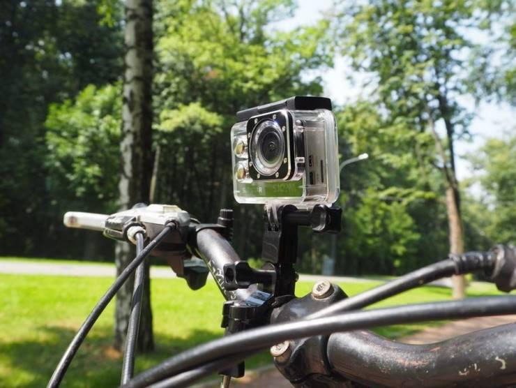 Видеорегистратор для велосипеда (специальные велосипедные модели)