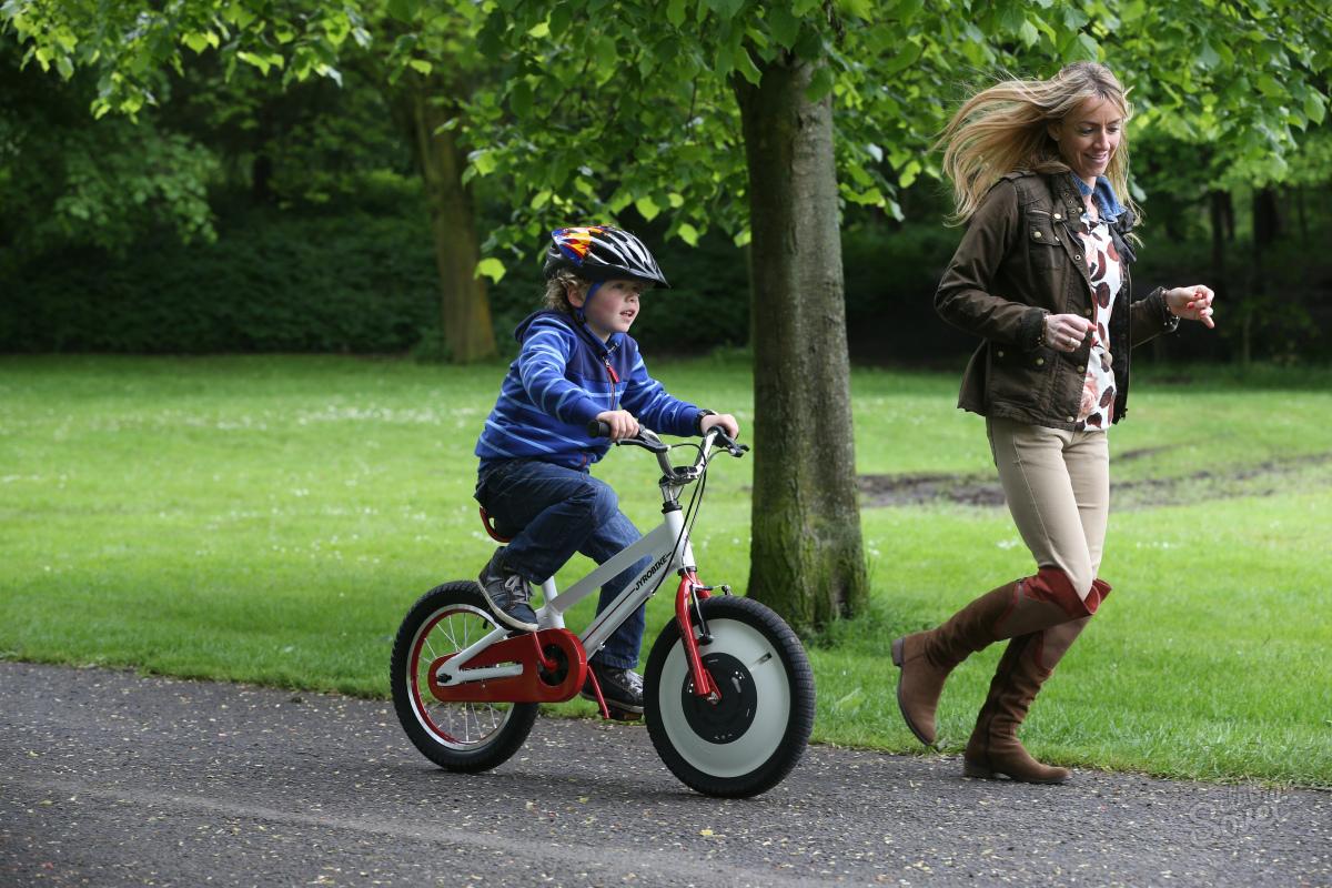 Как быстро научиться ездить на велосипеде?