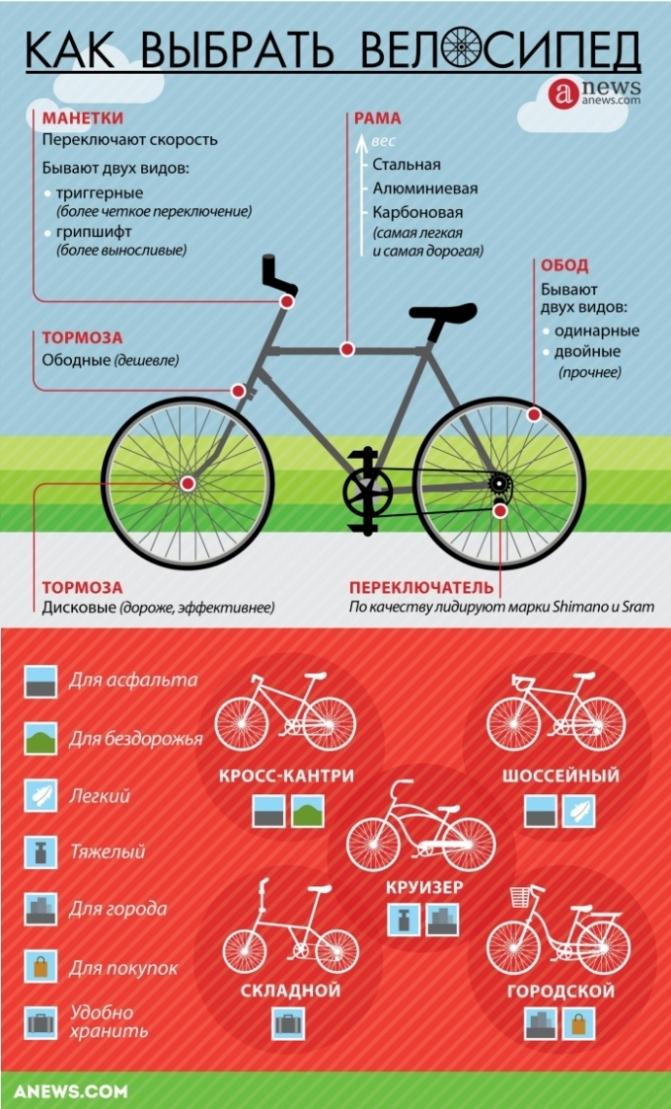 Как выбрать велосипед для мужчины по росту, весу и типу?