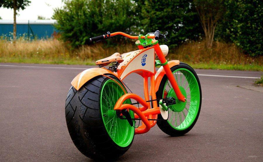 Велосипеды с необычными колесами