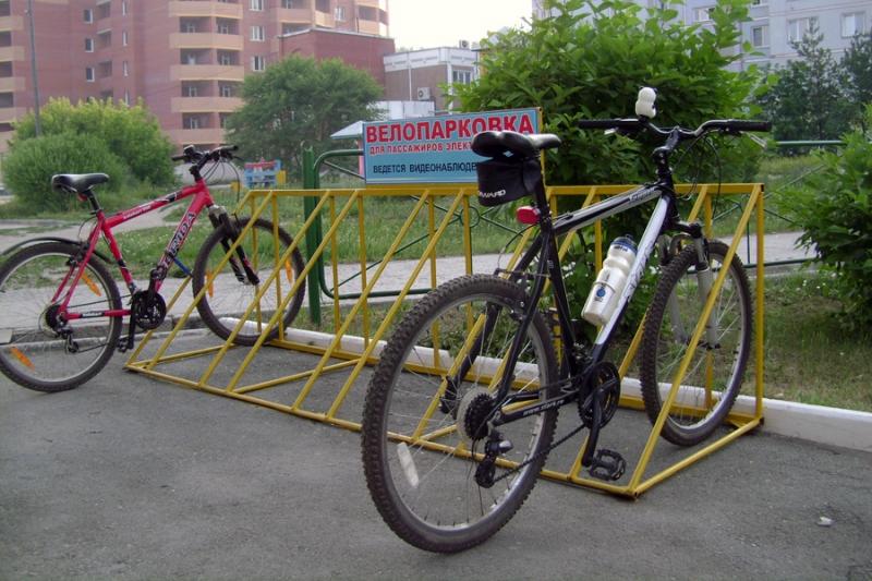 Как сделать стоянку для велосипедов?