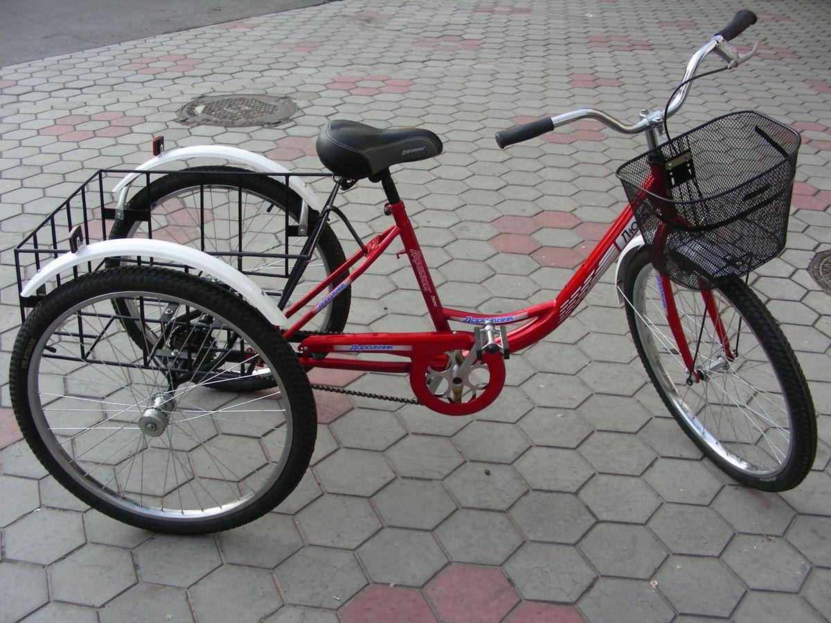 Трехколесный велосипед и его особенности.