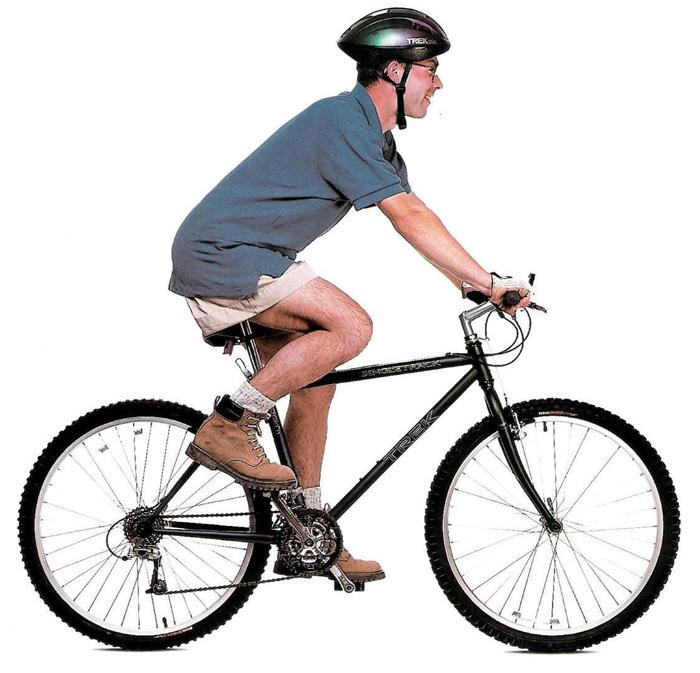 Правильная посадка на велосипеде, основные правила, особенности для дорожного (городского), горного и шоссейного байка