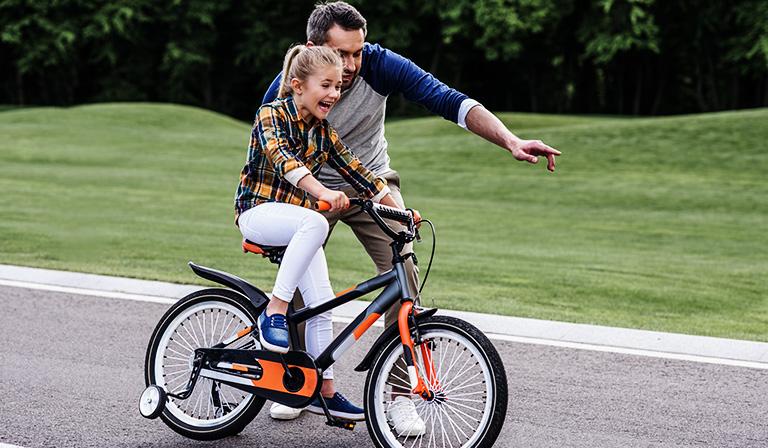 Школа начинающего велосипедиста