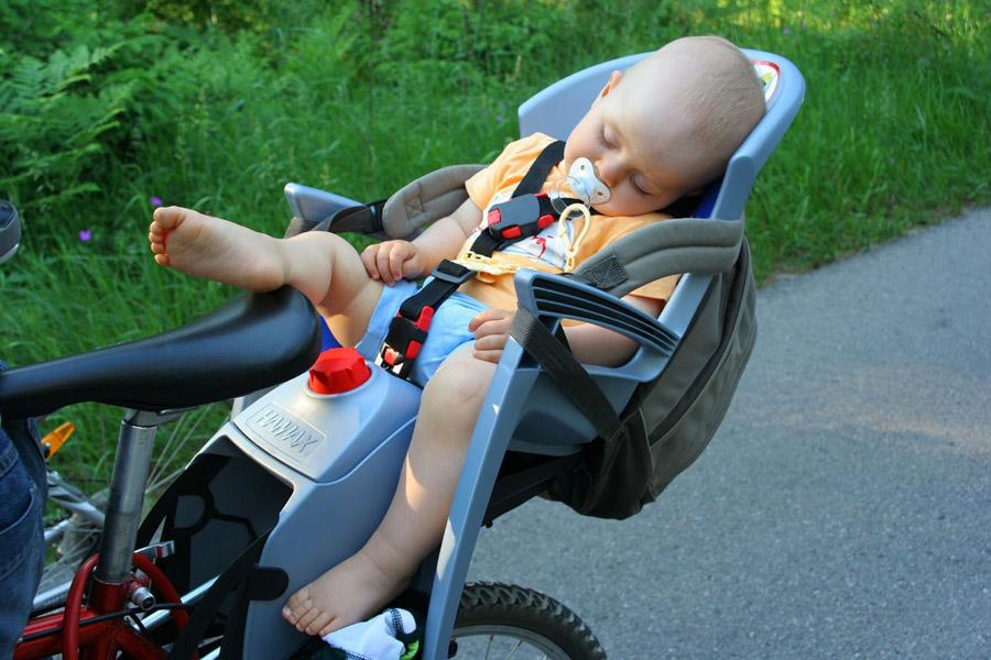 Велосипедные кресла для ребенка