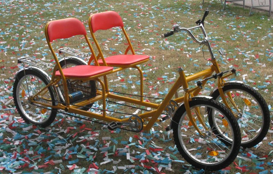 Трёхколёсный велосипед своими руками
