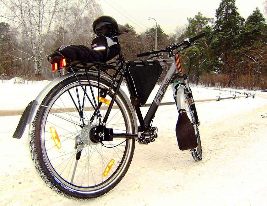 Карданная передача в велосипеде