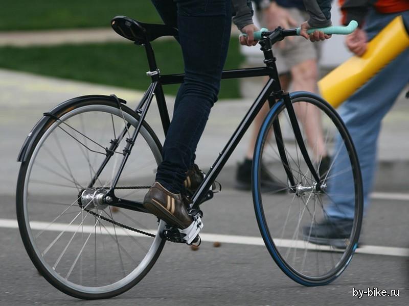 Велосипеды с фиксированной передачей