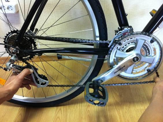 Как заменить цепь на велосипеде со скоростями