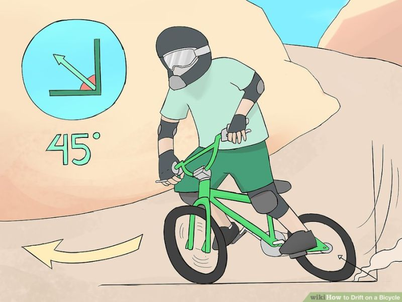 Как научиться дрифтовать на велосипеде   советы   veloprofy.com
