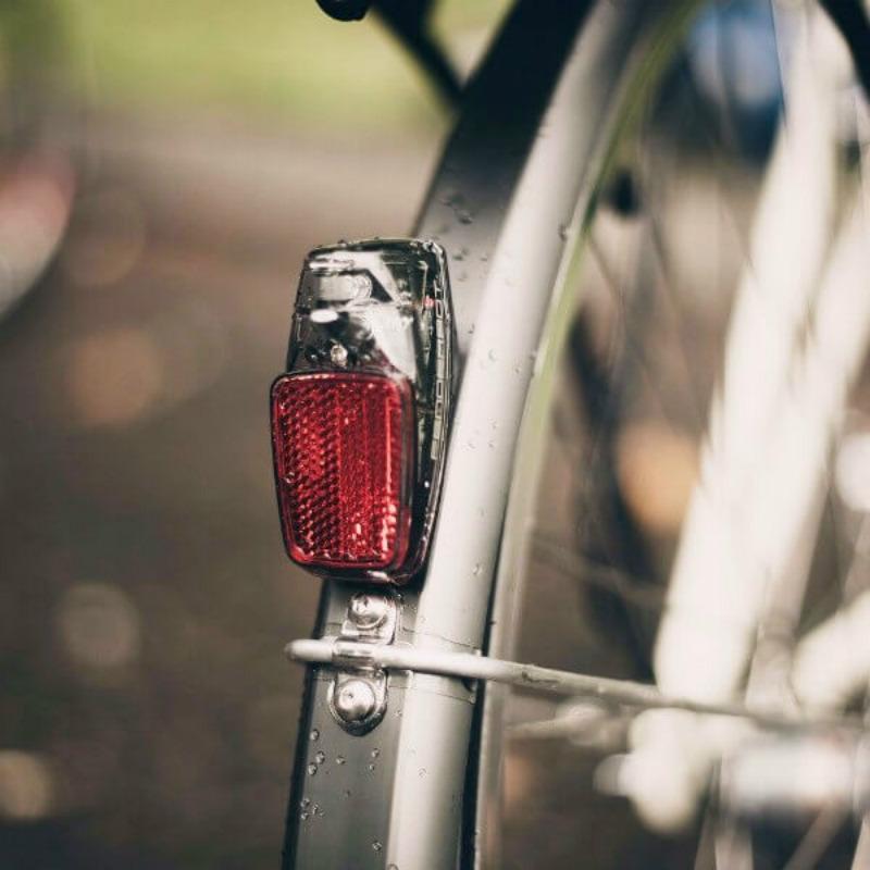 Как сделать стоп сигнал на велосипед