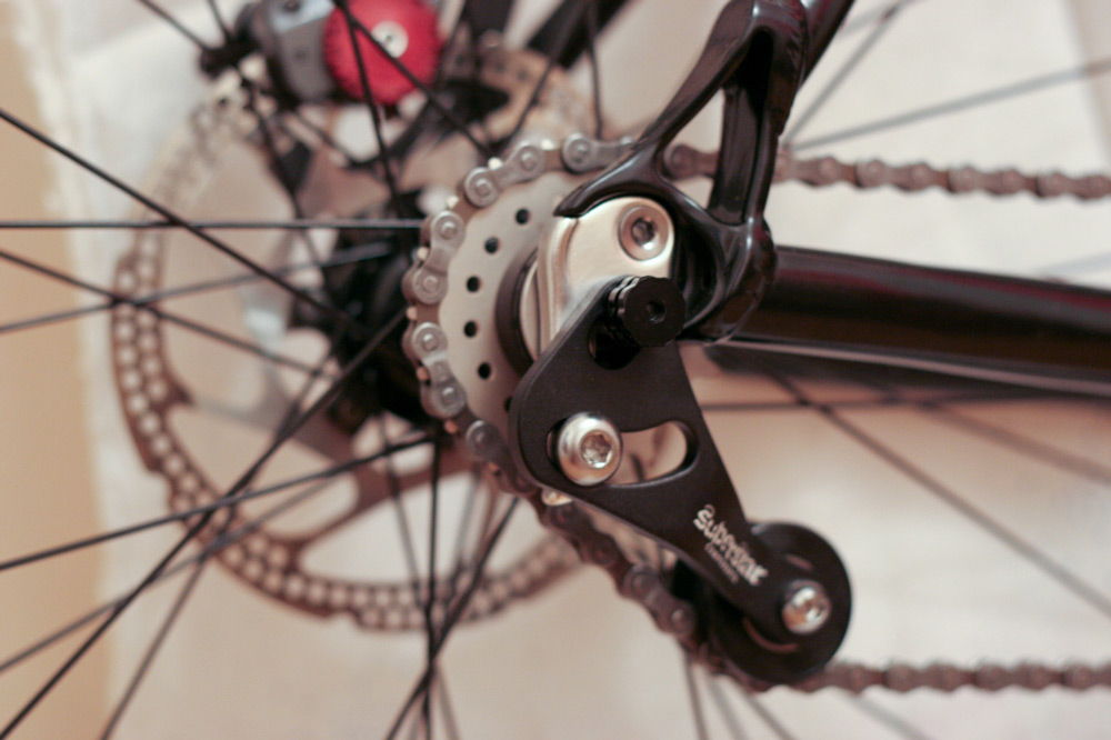 Проскакивание цепи велосипеда