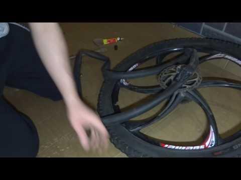 Как заклеить камеру велосипеда с помощью ремкомплекта: правила в домашних условиях