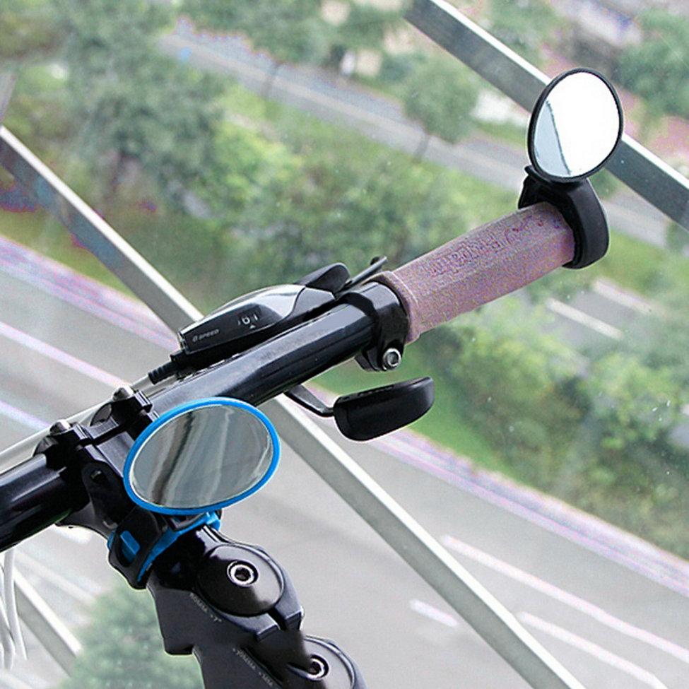 Способы отображения и крепления велозеркала заднего вида