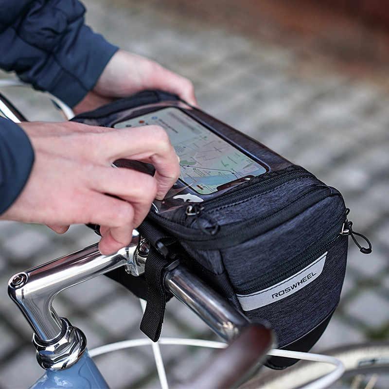 Как выбирается велосумка на руль, на раму или подседельная сумка для велосипеда