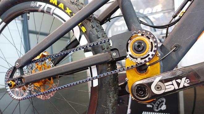 Ременная передача на велосипеде и ее особенности