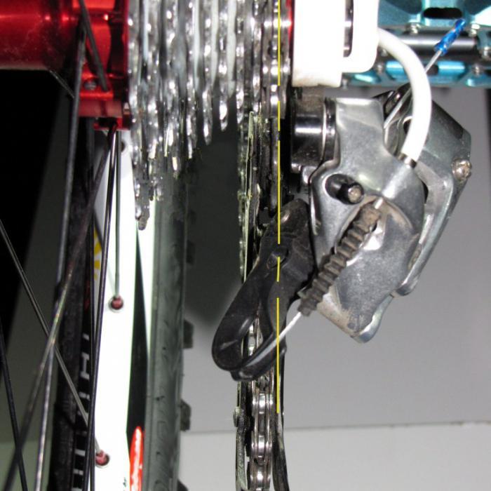 Почему проскакивает цепь на велосипеде при нагрузке