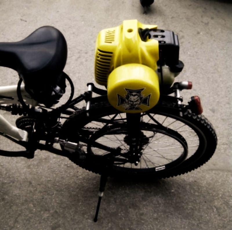Бензиновые двигатели для велосипеда
