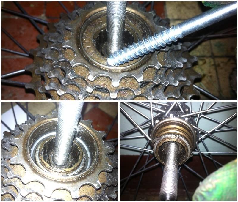 Как можно разобрать и снять трещотку на велосипеде   ремонт и уход   veloprofy.com