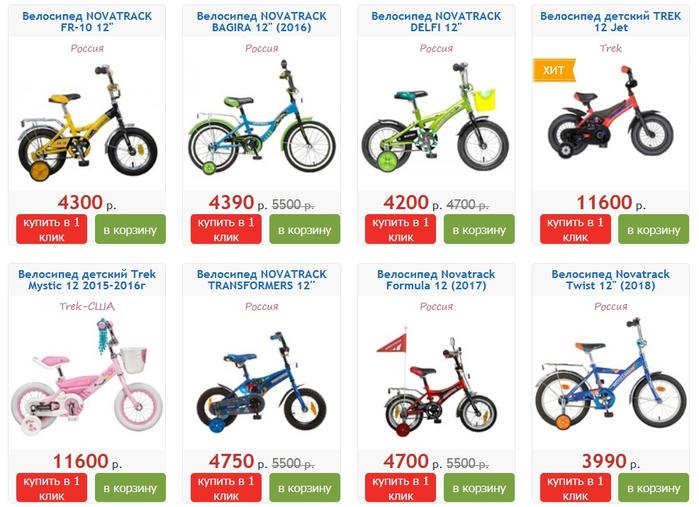 Как подобрать велосипед по росту ребенка с помощью таблиц