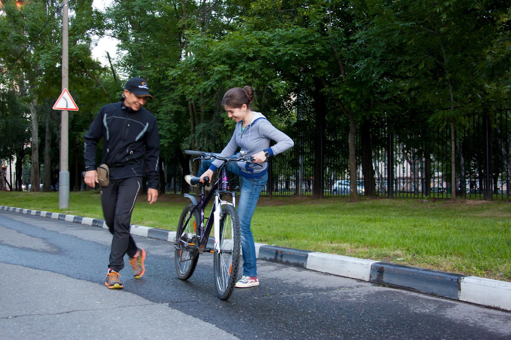 Азы техники езды на велосипеде для новичков