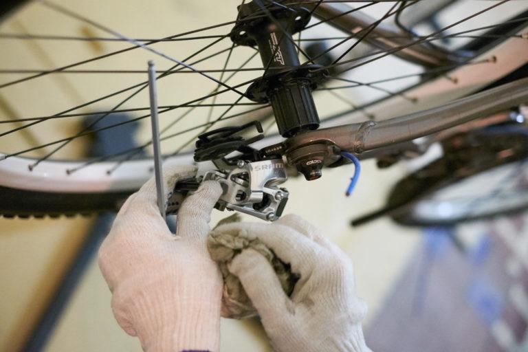 Разборка и сборка заднего колеса велосипеда