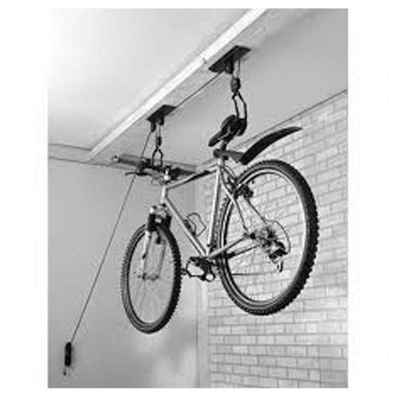 Как повесить велосипед на стену или потолок