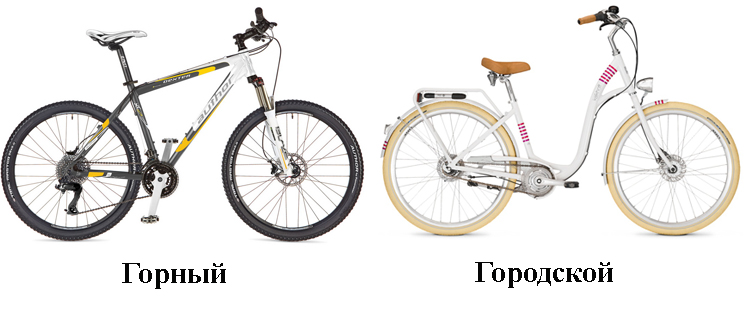 Чем отличается горный велосипед от дорожного